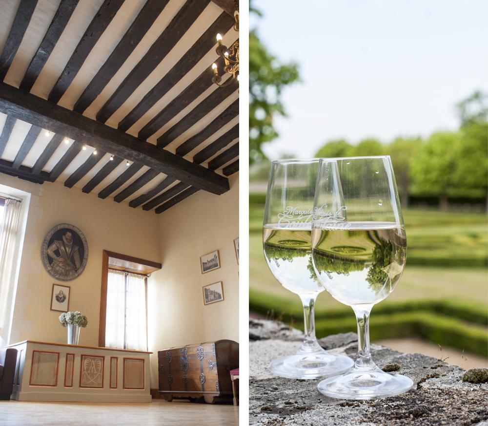 Le salon Henri IV & les dégustations de vins.