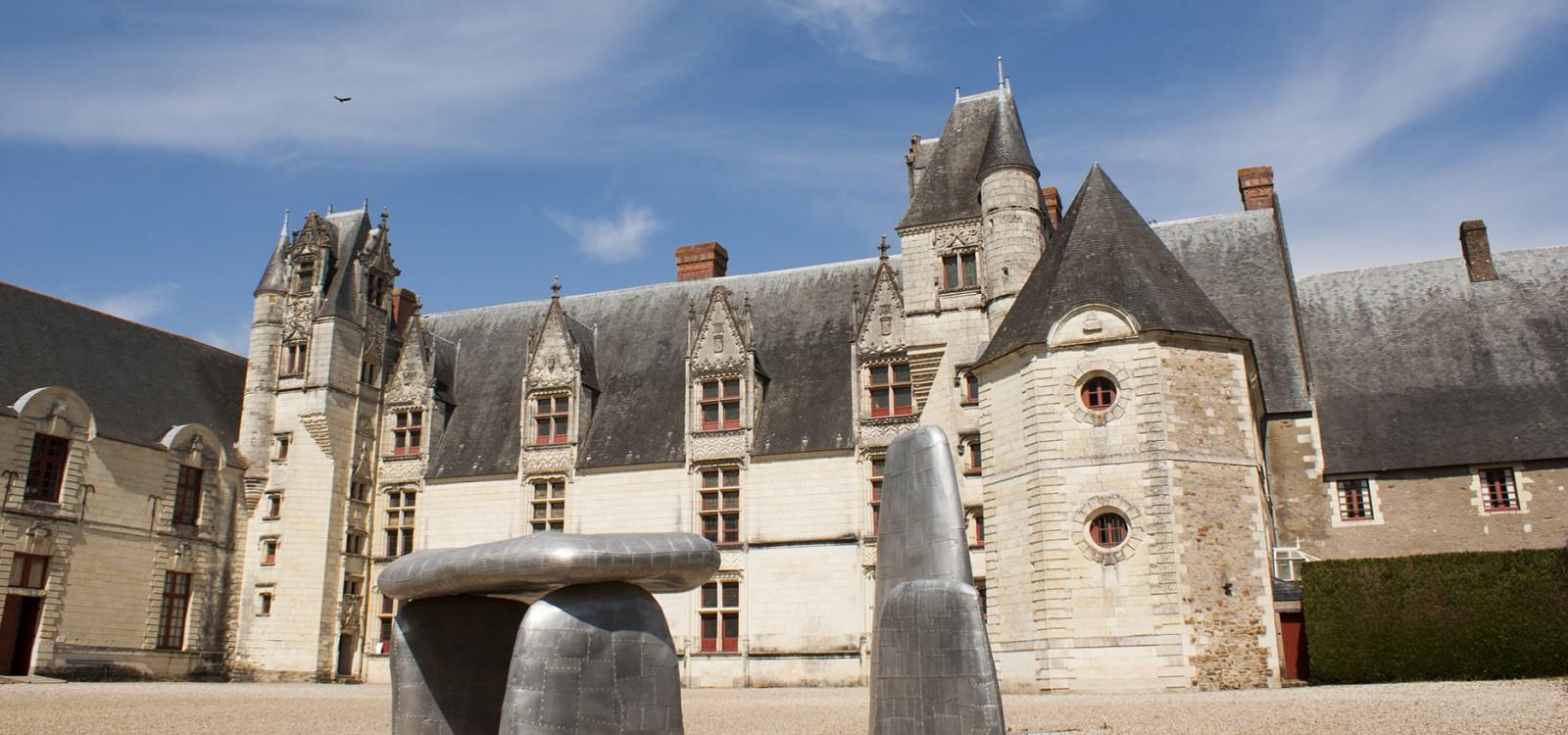 La cour du Château de Goulaine